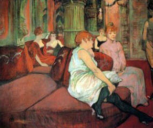 Toulouse-Lautrec. 1894, kréta és olaj, karton, 115,5 x 132,5 cm, Toulouse-Lautrec Múzeum, Albi
