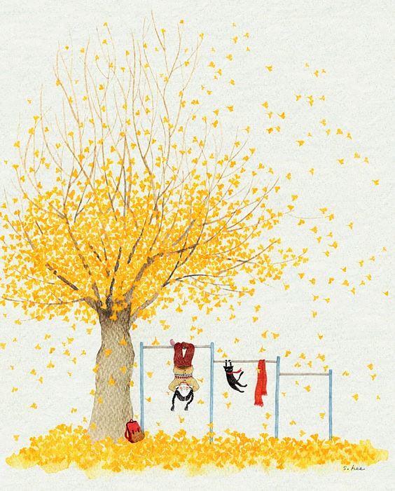 Csüngök a fán