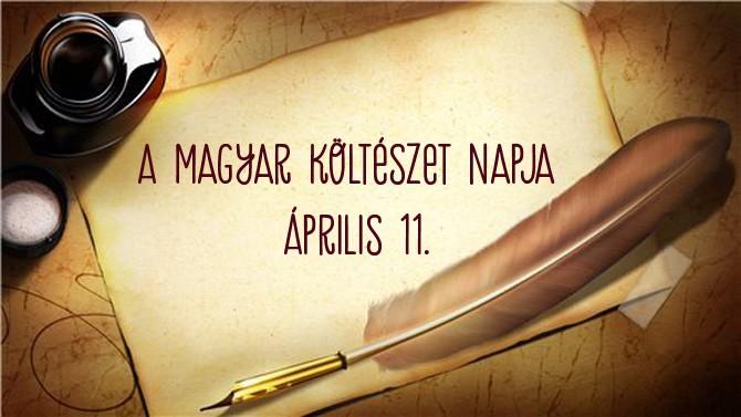 A magyar költészet napján