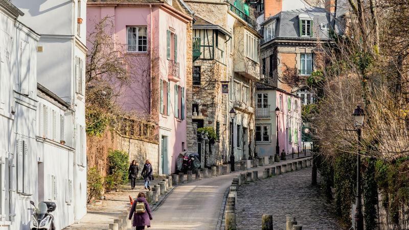 Séta a Montmartre-on