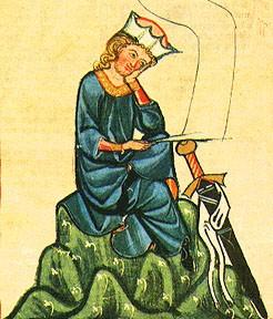Walther von der Vogelweide: A hárs alatt